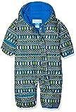Columbia Mono para bebé, Snuggly Bunny Bunting, Negro (Cool Grey Zigzag, Super Blue), Talla 12/18 Meses