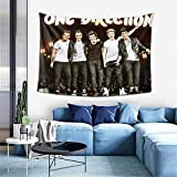 PANDASTYLE One Direction Tapestry Home Decor Wall Hanging for Living Room Bedroom Dorm 60' X 40 Inches