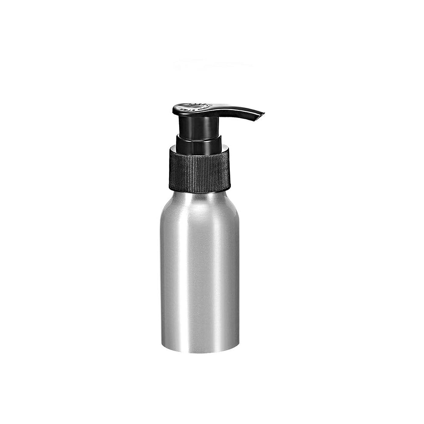 ピューピカリングウッズuxcell uxcell アルミスプレーボトル ブラックファインミストスプレー付き 空の詰め替え式コンテナ トラベルボトル 1.7oz/50ml
