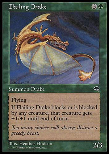 Magic The Gathering - Flailing Drake - Tempest