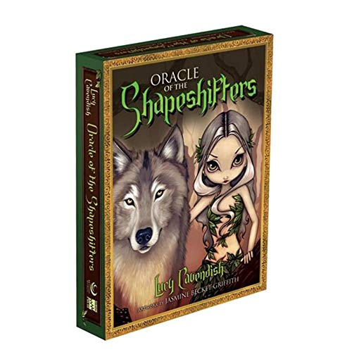 S-TROUBLE Baraja de 45 Cartas Oracle of The Shapeshifters Full English Mysterious Adivination Tarots Family Friend Party Juego de Mesa