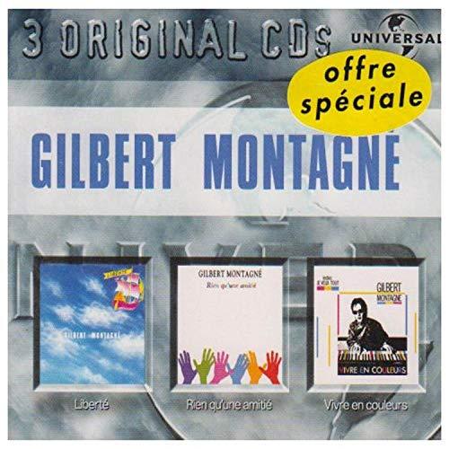 Awntech Gilbert montagne : 3 original CDs (FR Import)