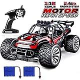 joylink Elektro RC Auto 1:16 RC Autorennwagen Offroad 2WD 2.4GHz Ferngesteuertes Auto Hochgeschwindigkeits RTR RC Buggy RC Monster Truck mit Akku (1512)