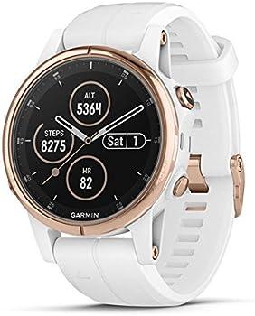 Garmin Fenix 5S Plus Sapphire Multisport GPS Smartwatch
