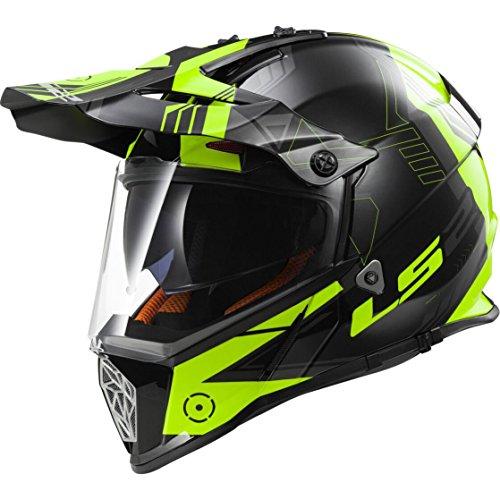 LS2 Helm, Schwarz, XXL