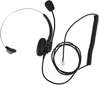 Wired Headset Stereo Headphones with Noise-Cancelling Microphone HINMAY USB Headset In-Line Controls For PC Computer Call Center Gaming Adjustable USB Wired Headset