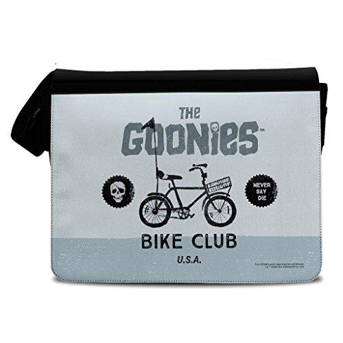 Offiziell lizenziert die Goonies Bike Club Schwarz Polyester Messenger Bag