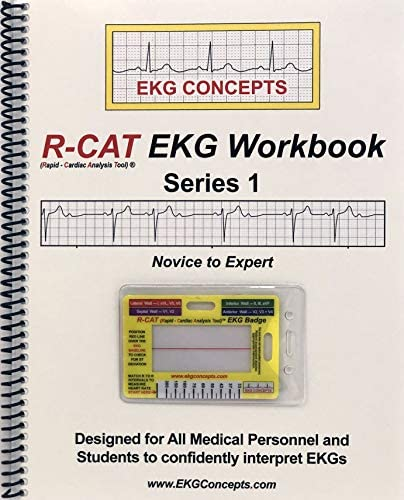 R CAT EKG Workbook Series 1 Includes R CAT EKG Badge product image