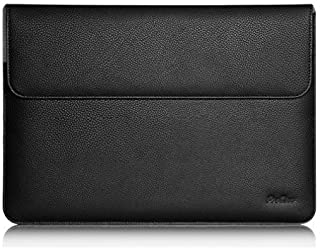 """ProCase Surface Laptop 2017 / Surface Book MacBook Pro 13 Case Sleeve, Protective Sleeve Cover for 13"""" MacBook Pro 2018 2017 2016 / Pro Retina/MacBook Air 13.3"""" / Surface Book Tablet Laptop -Black"""