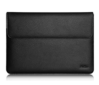 ProCase Surface Laptop 2017 / Surface Book MacBook Pro 13 Case Sleeve Protective Sleeve Cover for 13  MacBook Pro 2018 2017 2016 / Pro Retina/MacBook Air 13.3  / Surface Book Tablet Laptop -Black