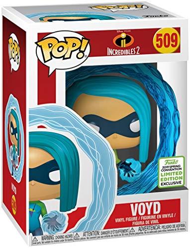 Funko POP! Disney: Los Increíbles 2: Void Exclusivo