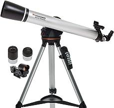 Celestron - 80LCM Computerized Refractor Telescope - Telescopes for Beginners - 2 Eyepieces - Full-Height Tripod - Motoriz...