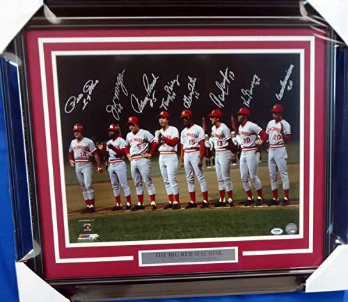 Pete Rose (Cincinnati Reds) Signed Autographed 16x20 Photo (PSA/DNA COA)