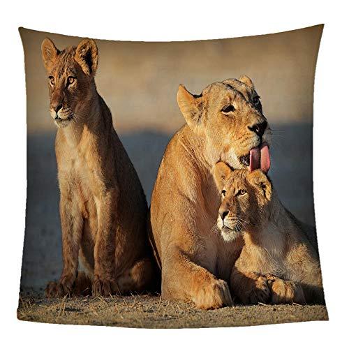 WJSZSD Manta de Sofá Animales y leopardos Manta de Franela Reversible,Manta de sofá de sensación cómoda cálida,Manta Forro Polar para Todas Las Estaciones en Microfibra Suave Impresión 3D 180x200cm