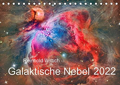 Galaktische Nebel (Tischkalender 2022 DIN A5 quer)