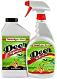 BUNDLE & SAVE - Use the Ready-To-Use spray first, then refill the high-quality sprayer with our cost-saving Concentrate Repellent! NATURALLY STRONGER – Combines natural ingredients that make plants inedible to deer AND powerful botanical oils that ar...