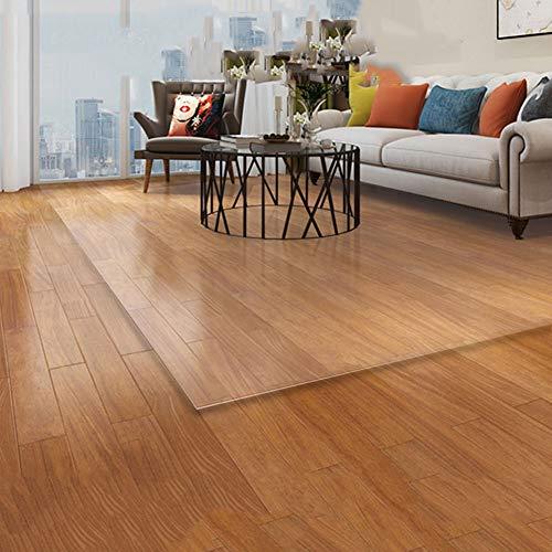 HH- Läufer Wohnzimmer Transparente Bodenmatte, rutschfeste Rechteck-Teppiche Bodenschutzmatte für Home Office Rollstuhl, Umweltfreundlich (Size : 90×150cm)
