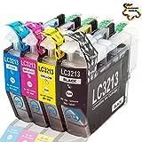 NTT 4 XXL kompatible Druckerpatronen als Ersatz für LC3213 LC-3213 LC 3213 DCP-J772 DW DCP-J774 DW MFC-J890 DW MFC-J895 DW MFC-J497DW DCP-J572 DW ( 1x Schwarz, 1x Cyan, 1x Magenta, 1x Yellow)