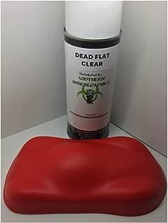 Dead Flat Clear Coat -16oz Aerosol - Hydro Film Dip Paint - Hydrographics Film - Hydro Dip Film - Hydrographic Film - Water Transfer Printing - Hydro Dipping