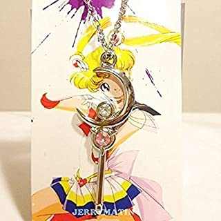 Sailor Moon Crystal Stick Make up Pendant Necklace Silver Color Toy