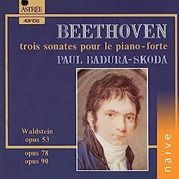 Beethoven: Trois sonates pour le piano-forte (Piano Hammerflügel de Georg Hasska, vienne ca. 1815)
