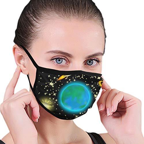Unisex Masken Gallaxy X Image Mode Maske Kaltmaske Staubschutzmaske Skimaske Wintermaske