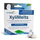 OraCoat XyliMelts - 40 Haft-Tabletten gegen Karies und Mundtrockenheit - Diskret - Im Schlaf verwendbar - VEGAN [Ohne Minze] -