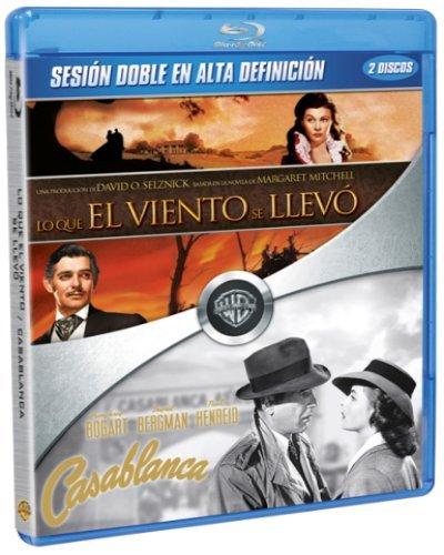 Lo Que El Viento Se Llevó + Casablanca [Blu-ray]