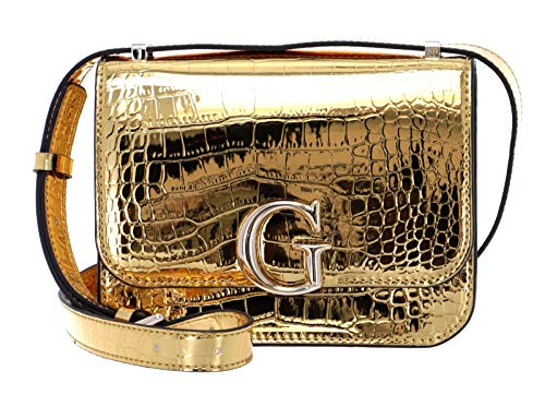 Guess Womens HWCM79-91780-GOL - Chaqueta para mujer (talla M), color dorado