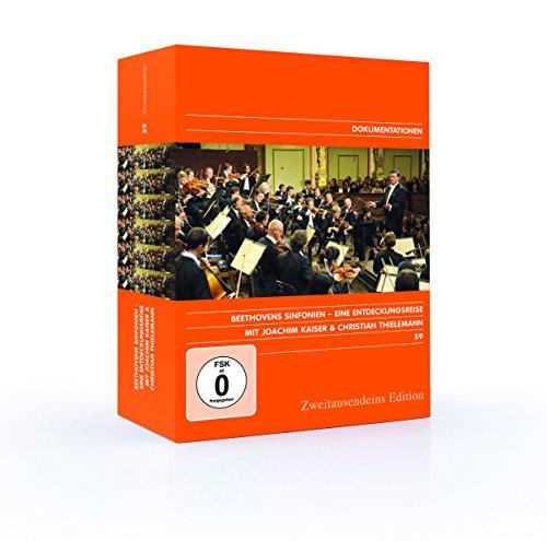 Beethovens Sinfonien. Eine Entdeckungsreise mit Joachim Kaiser und Christian Thielemann. Zweitausendeins Edition Dokumentation 59.