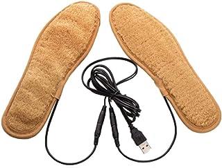 Cokeymove USB Suela calefactora Suela calefactora Mando a Distancia, Temperatura Inteligente Recargable Recargable Varios tamaños Unisex Suela cálida réchauffeur de pie