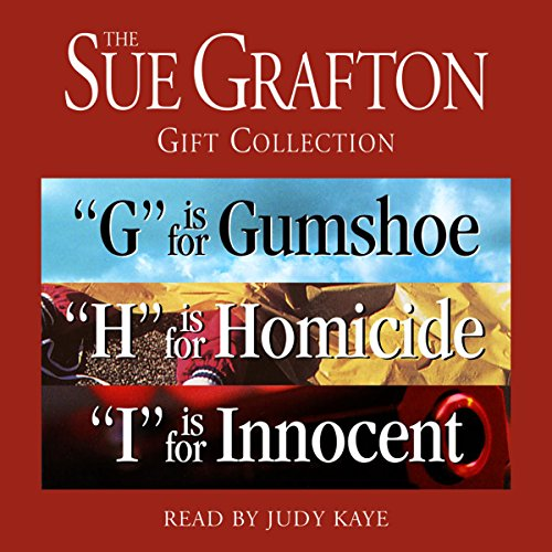 Sue Grafton GHI Gift Collection audiobook cover art