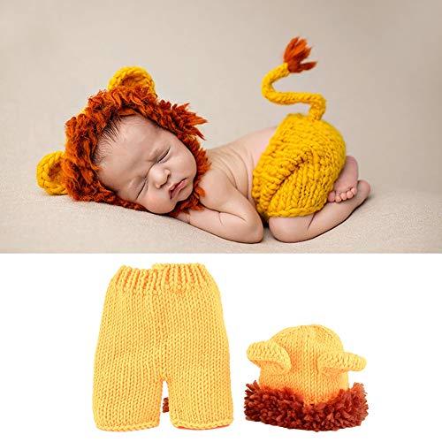 Baby-Löwe-Kostüm, Baby-weiches bequemes niedliches Löwe-Kostüm-Foto-Prop Fotografie-Kostüm für Baby Neugeborenes