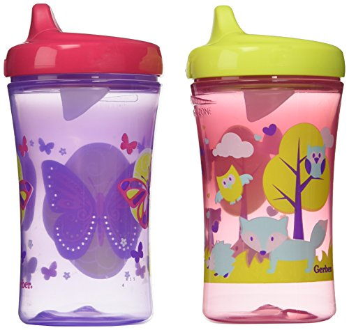 Nuk First Essentials Hard Spout Sippy Cup in Assorted Colors-2 Pack, 10-Ounce...