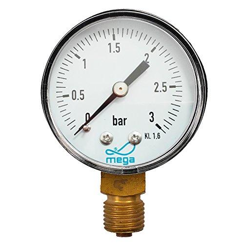 Manometer für Sandfilter Ø 50mm 1/4