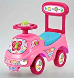 Allkindathings Push Along Sit On Ride On Car Quality Walker Toy Telephone Theme