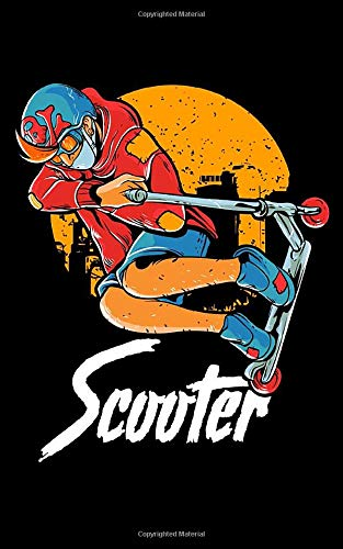 Scooter: Cute & Funny Scooter Kid Riding Tricks 2020 Pocket Sized Weekly Planner & Gratitude Journal (53 Pages, 5