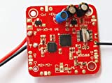 GzxLaY Placa de Circuito de Repuesto Compatible with Drones RC Syma X5C-1 X5C 4CH RC Quad Drone X5 Placa receptora de PCB Versión V6 Accesorio Piezas de cuadricópteros Accesorios (Color: Vers