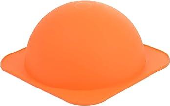 Li Ying LY261 Multipurpose Medium Dome Silicone Bake Mold, Orange