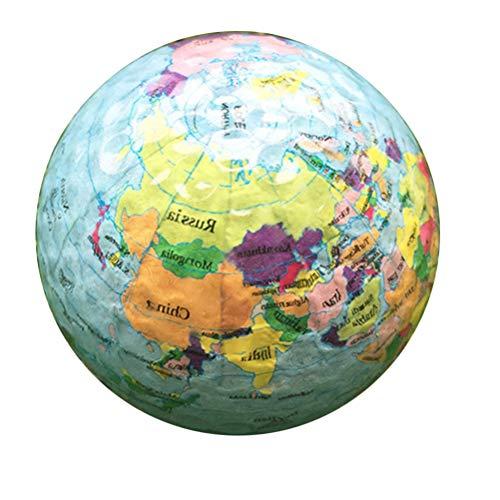 BESPORTBLE Golfball Erde Globus Golfball Zweischichtiger Golf Trainingsball Golf Übungszubehör für Indoor Outdoor