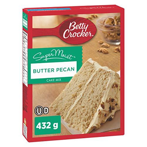 Betty Crocker Butter Pecan Super Moist Cake Mix, 432 Gram
