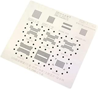 Tool Parts Amaoe SSD Stencil for Solid State U Disk Flash Memory BGA Stencil BGA 152 132 316 272 Main Control 2246 Stencil - (Color: 0.2mm)