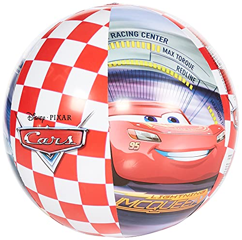 Intex 58053 - Pallone Cars, 61 cm