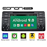 eonon GA9350 Autoradio mit Android 9 fit BMW E46 1999-2004 2GB RAM 32GB ROM Quad-Core Indash 17,8 cm (7 Zoll) HD-Touchscreen DVD GPS Bluetooth-Kopfeinheit unterstützt Lenkradsteuerung 4G...