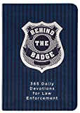 Behind the Badge: 365 Daily Devotions for Law Enforcement (Imitation Leather)  Motivational Devotions for Police Officers or Those Working in Law Enforcement, Perfect Gift for Family and Friends