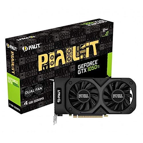 Palit NE5105T018G1-1071D GeForce GTX 1050Ti GDDR5 Grafikkarte 4GB