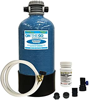 On The Go OTG4-DBLSOFT-Portable 16,000 Grain RV Water Softener