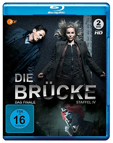 Die Brücke - Transit in den Tod: Staffel 4 [Blu-ray]