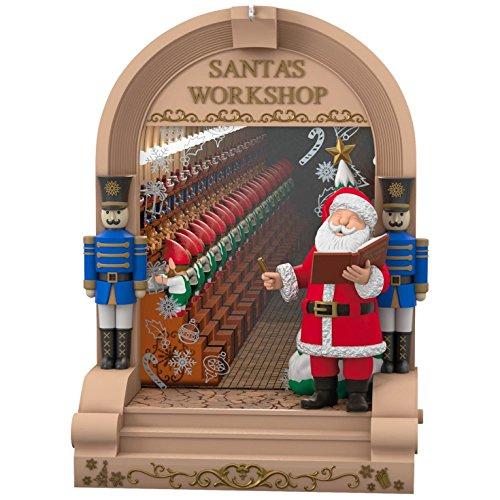 Hallmark Keepsake Ornament Santa's Workshop -  Hallmark Cards, Inc., QGO1224