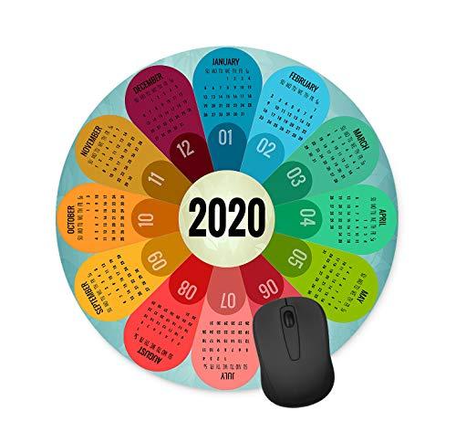 Mauspad für 2020 Kalender/Computerzubehör/Mauspad, rechteckig, rutschfest, Neopren, 240 mm x 200 mm x 3 mm 7.90